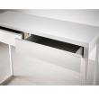 BESTÅ BURS Desk white shining