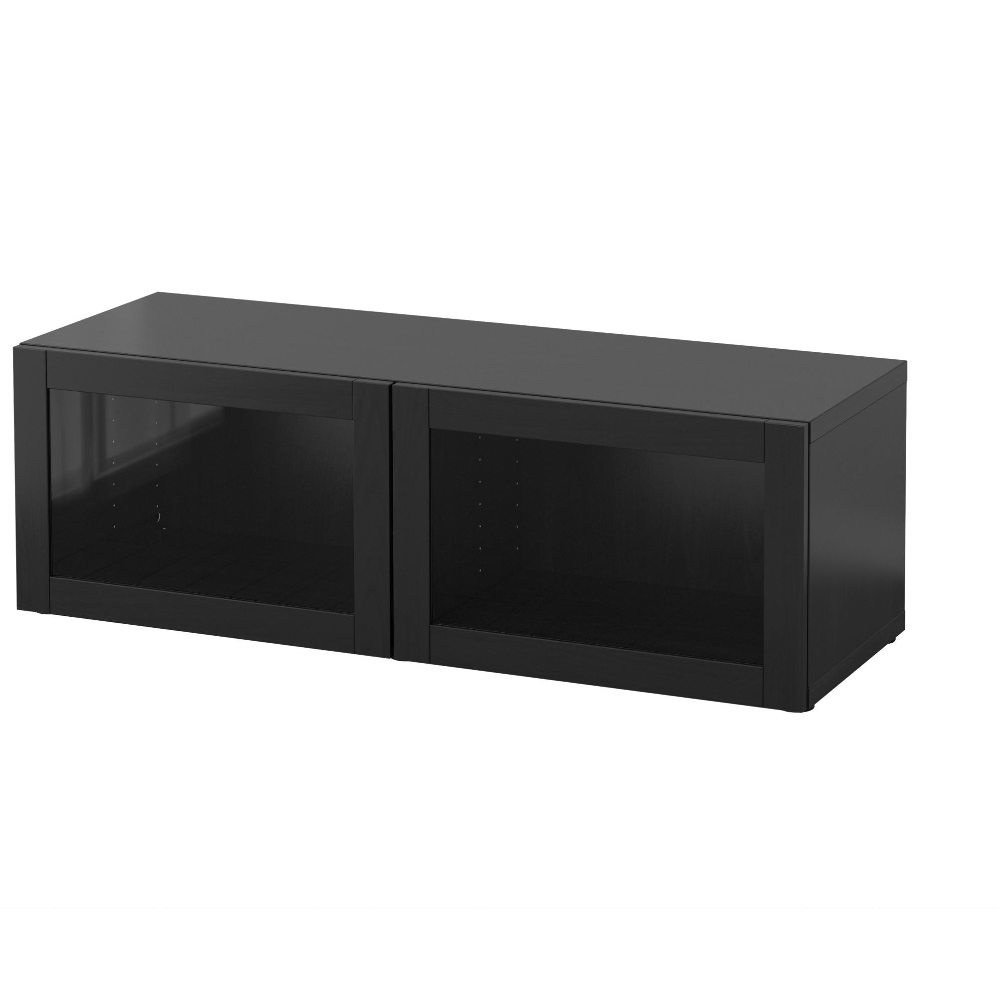 Best 197 Shelf Unit With Glass Doors