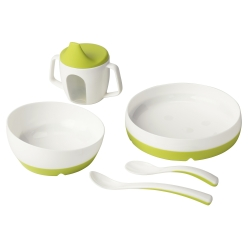 BÖRJA 3-piece eating set
