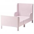 BUSUNGE Armazón cama extensible, rosado
