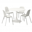 DOCKSTA Table and 4 chairs