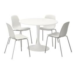 DOCKSTA Mesa con 4 sillas