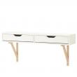 EKBY ALEX/EKBY VALTER Shelf with drawer