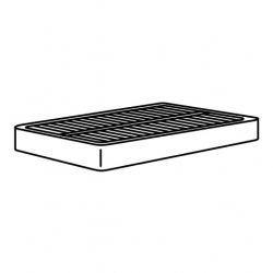 1 x ESPEVÄR Base de cama 90