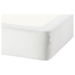 1 x ESPEVÄR Funda blanca base cama 90