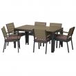FALSTER Mesa+6 sillas reposabrazos, ext