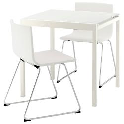 GLIVARP/BERNHARD Mesa y dos sillas