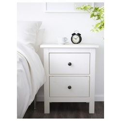 HEMNES Chest of 2 drawers, solid pine