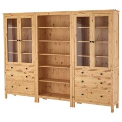 HEMNES Comb almacenaje&puertas/cajones