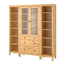 HEMNES Mueble de salón con almacenaje