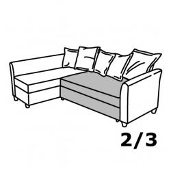 1 x HOLMSUND Módulo asiento sofá cama