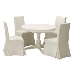 INGATORP Mesa con 4 sillas