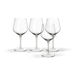 IVRIG Red wine glass x4, 16oz
