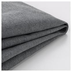 1 x KLIPPAN Funda sofá 2 plazas VISSLE gris