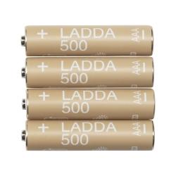 LADDA Pila recargable AAA 500 mAh.