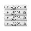 LADDA Pila recargable AAA 900 mAh.