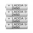 LADDA Pila recargable AA 2.450 mAh.
