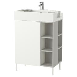 LILLÅNGEN Armario lavabo1puerta/2mód term