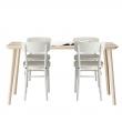 LISABO Mesa con 4 sillas