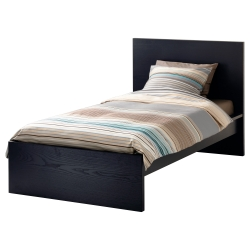 1 x MALM Twin bed frame