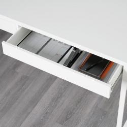 MICKE Escritorio 142x75 cm con cajones blanco