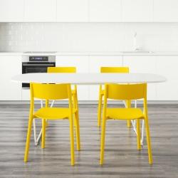 OPPEBY/BACKARYD Mesa con 4 sillas