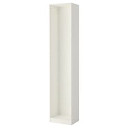 PAX Estructura armario  blanco 50x35x236cm