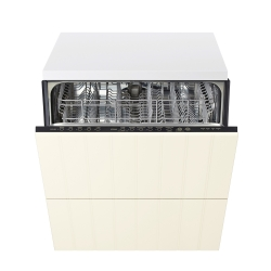RENLIG Integrated dishwasher w 2 fronts