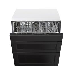 RENLIG Integrated dishwasher w 3 fronts
