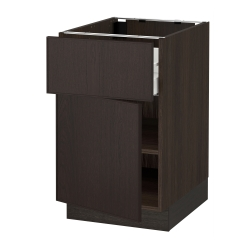 SEKTION Base cabinet with drawer/door