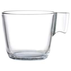 STELNA Taza vidro incoloro, 8oz