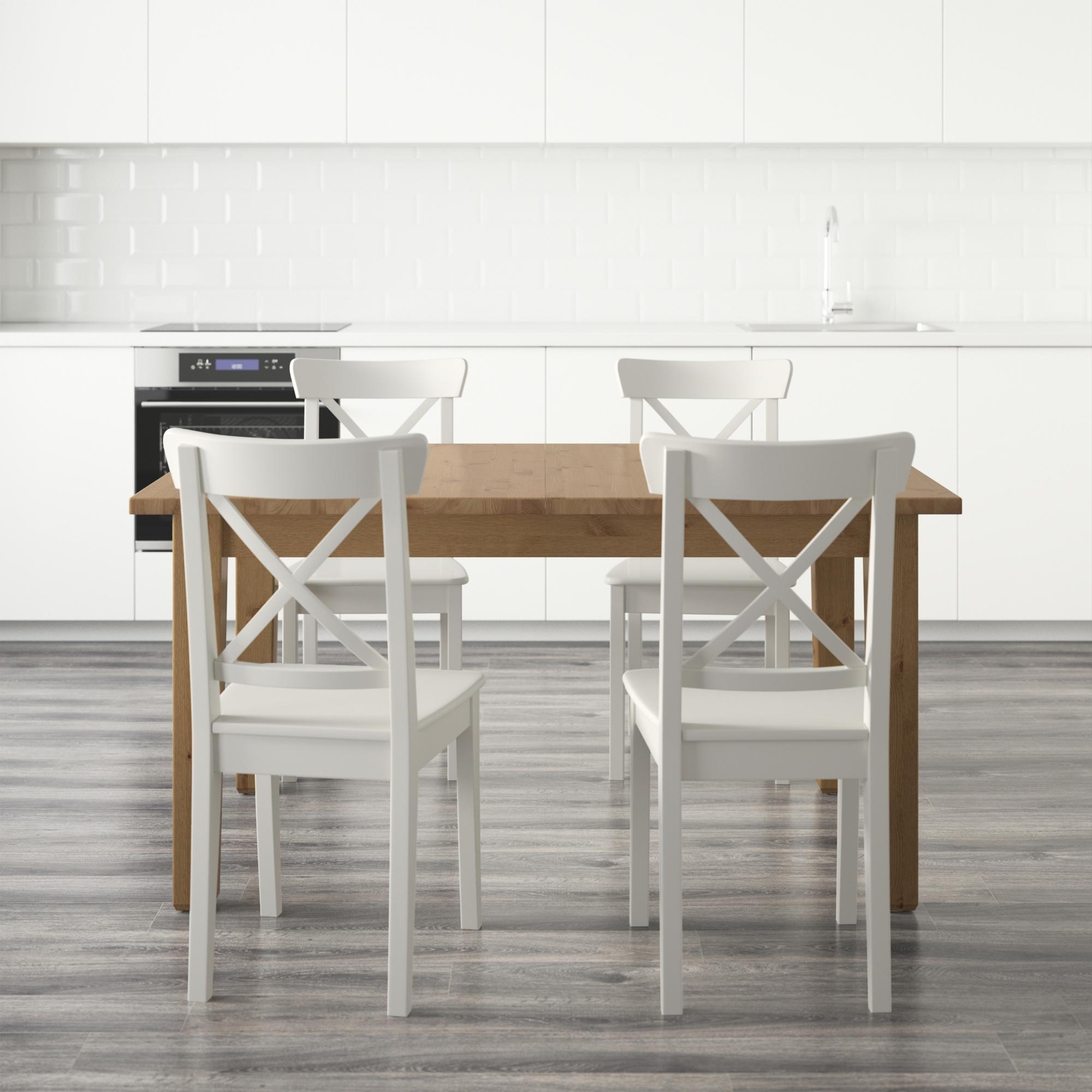 Storn s mesa con 4 sillas for Mesas ikea 5 euros
