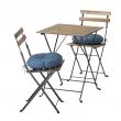 TÄRNÖ Table+2 chairs, outdoor