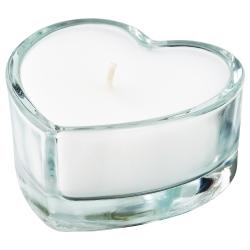 VINTERFEST Vela sin perfume en vaso