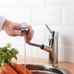 YTTRAN Llave para cocina con rociador extraible
