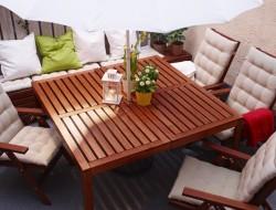 mesas de exterior