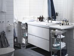 armarios de baño y lavabo