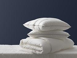 edredones y almohadas
