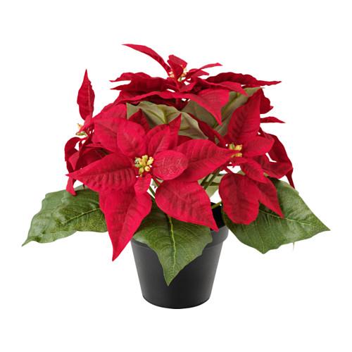 plantas artificiales, árboles de navidad y maceteros navideños