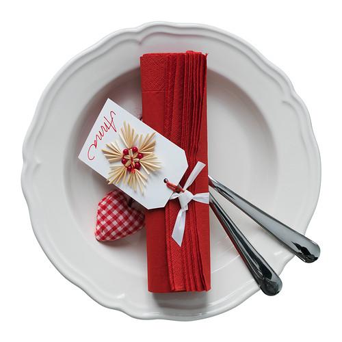 preparar la mesa de navidad