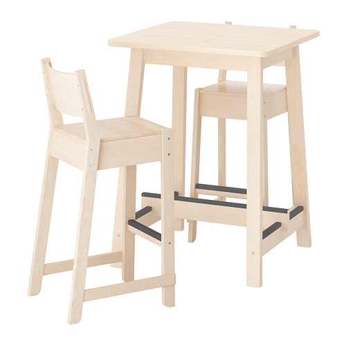 high tables, bar stools and highchairs