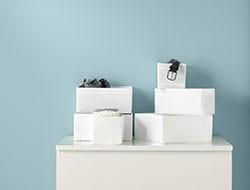 almacenaje, organización y pomos