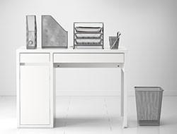 organización y accesorios de trabajo
