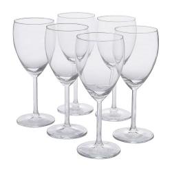 SVALKA Copa de vino blanco, 6 uds