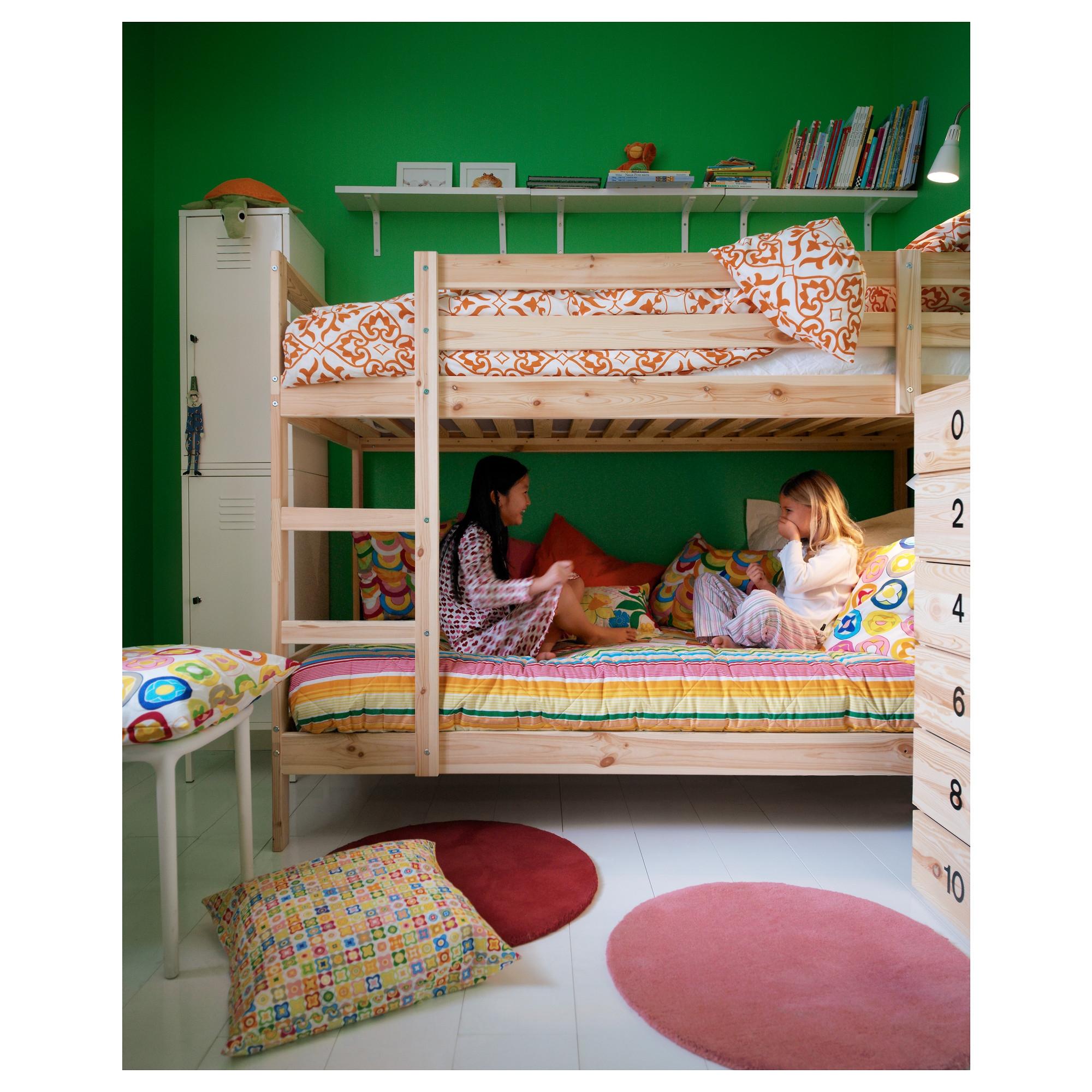 Mydal estructura de litera - Ikea mantas para camas ...