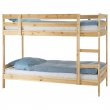 MYDAL Bunk bed frame wood