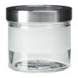 DROPPAR Recipiente vidrio con tapa, 0.4lt