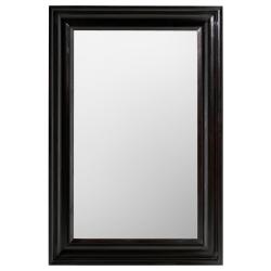 HEMNES Espejo 60x90 negro-marrón