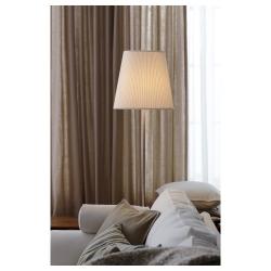 EKÅS Pantalla para lámpara blanco hueso 23 cm