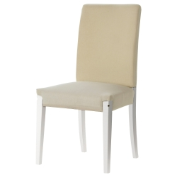 1 x HENRIKSDAL Estructura de silla, blanco